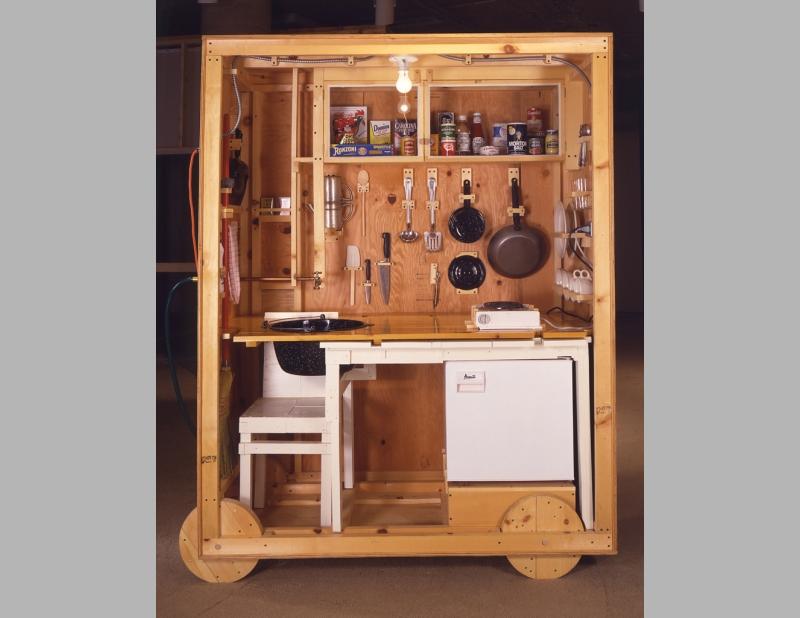 Crate House Allan Wexler